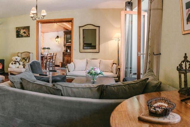 Casa encantadora para 17 huéspedes
