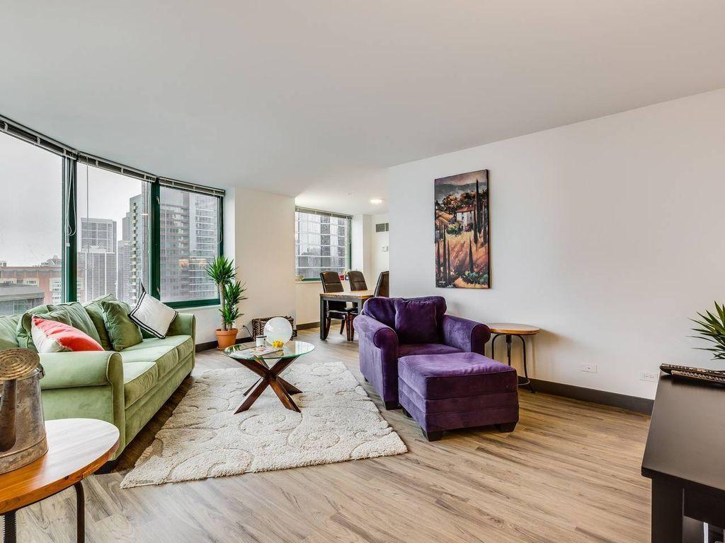 Apartamento de 3 habitaciones con jardín