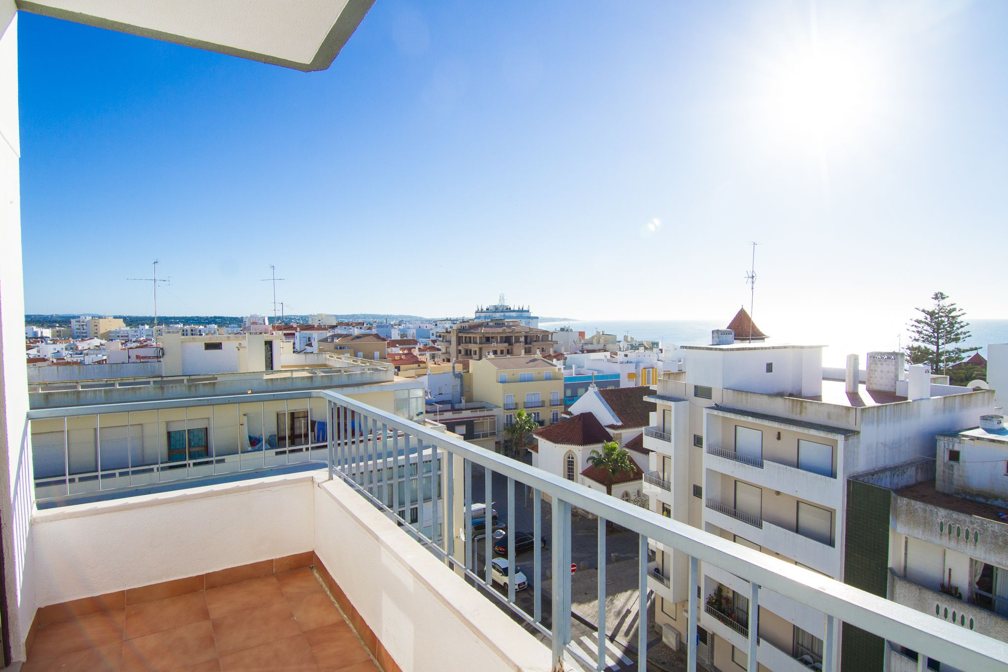 Hébergement avec balcon