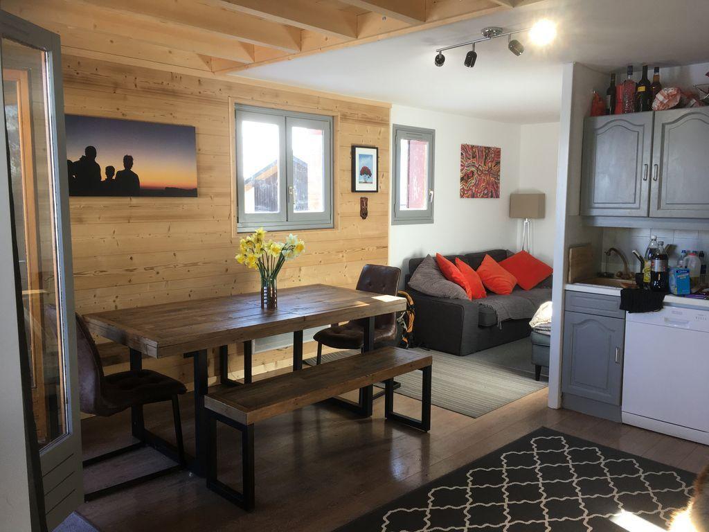 Apartamento Harikoa, recientemente redecorado, 5 plazas, a pie, esquí