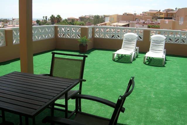 Apartamento con jardín en Tarajalejo