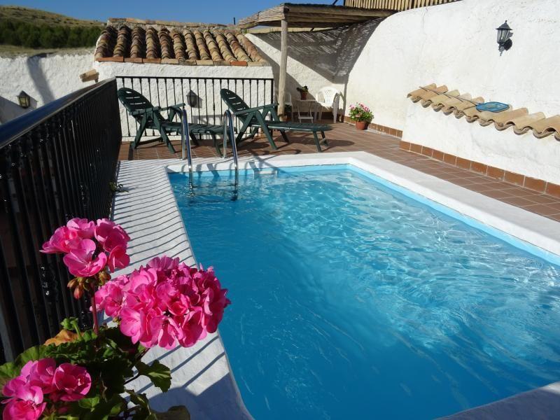 Cortijo Romero, exclusive use pool, Orce