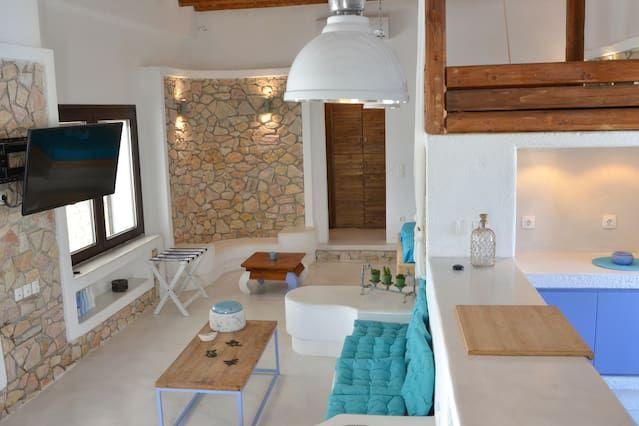 Casa en Ios island port para 4 personas