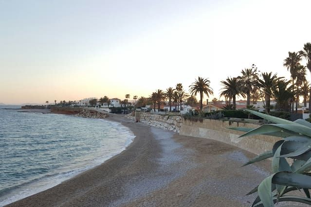 Only 10 meters away from the beach!