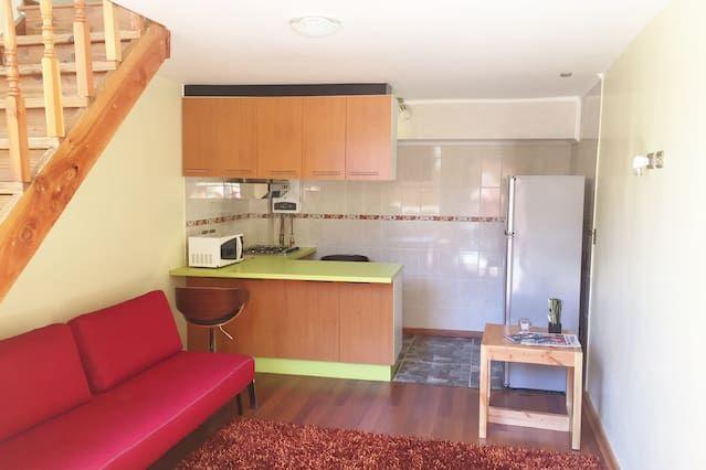 Hébergement pour 4 PAX de 1 chambre