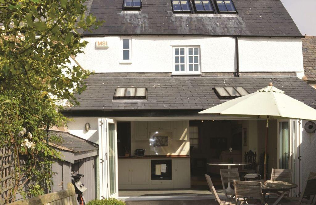 Familiar residencia en Conwy marina
