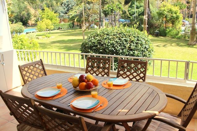Holiday rental in Calvià with garden