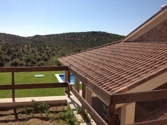 Alojamiento para 15 huéspedes con jardín