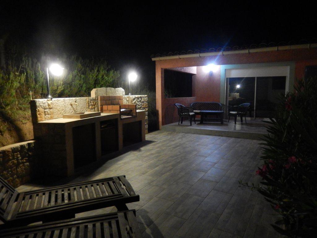 Alojamiento en Sant'andréa-d'orcino con jardín