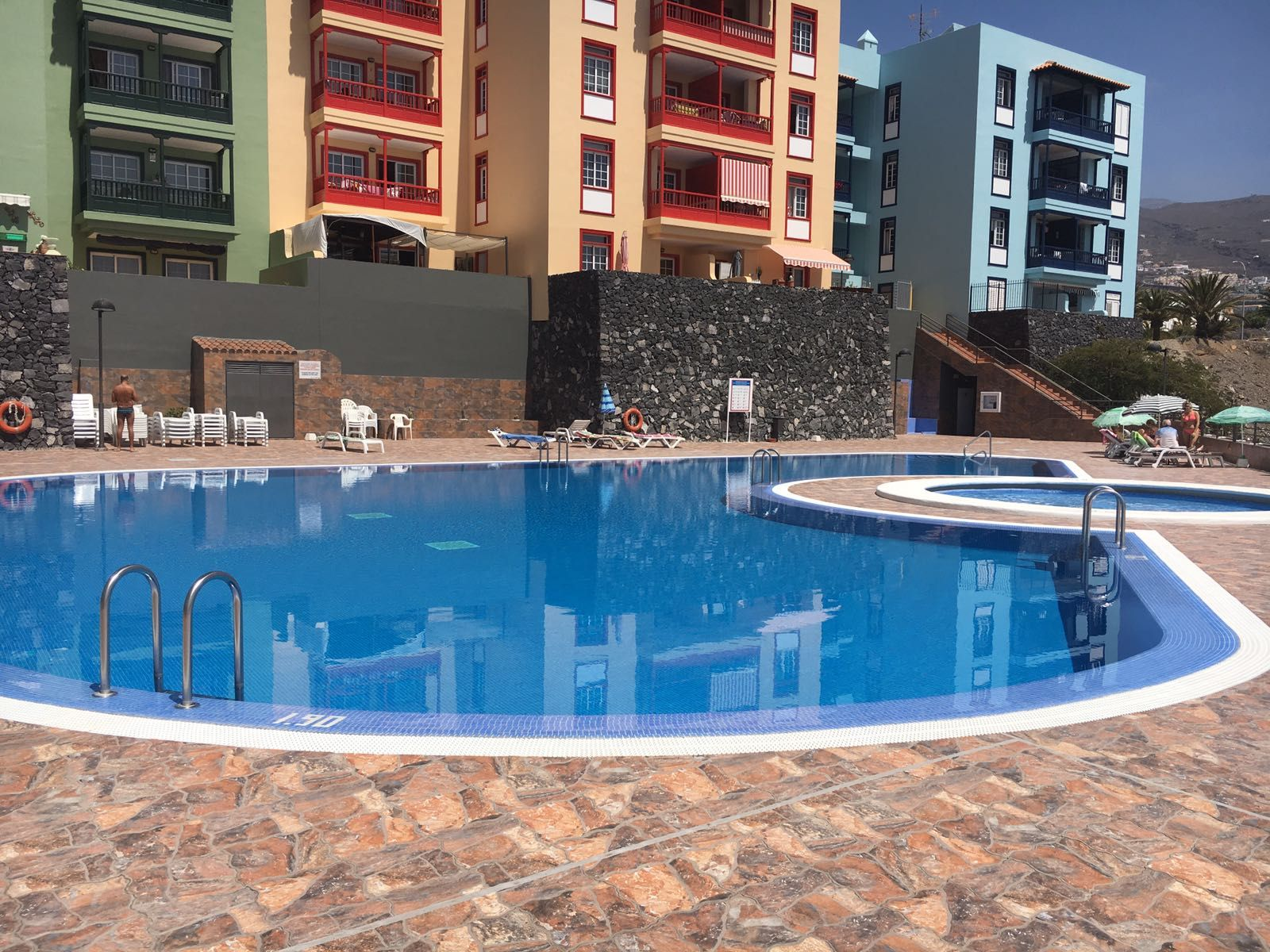 Apartamento con balcón de 1 habitación