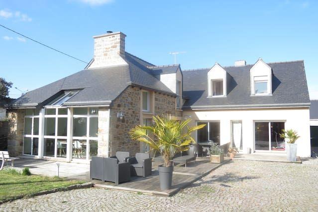 Casa en Langueux con parking incluído