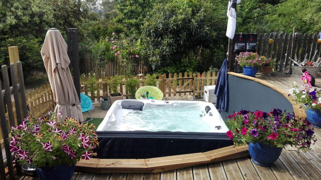 Vivienda con piscina de 20 m²