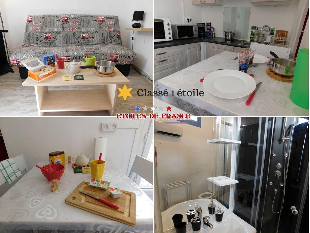 Apartamento de 1 habitación en Béziers