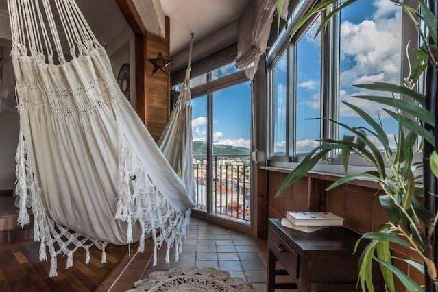 Ferienunterkunft in Pontevedra mit inklusive Parkplatz