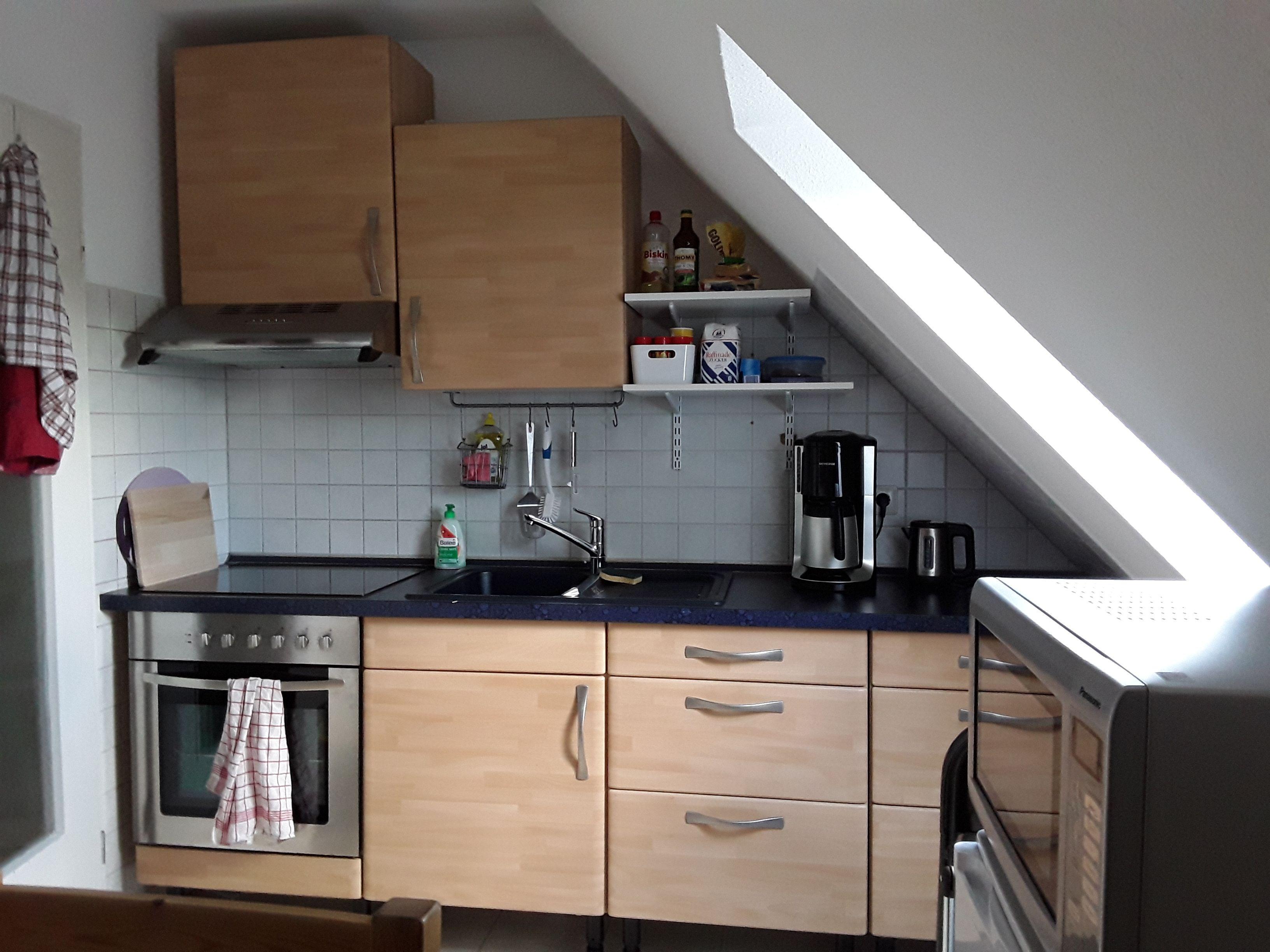 Bien équipé logement avec 2 chambres