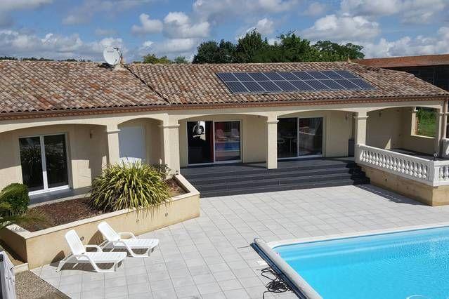 Residencia en Puysserampion con piscina