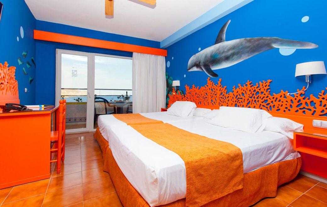 Habitación tematizada del Diverhotel de Aguadulce