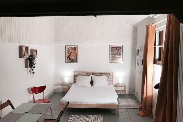 Appartement à Saint-ouen avec 1 chambre