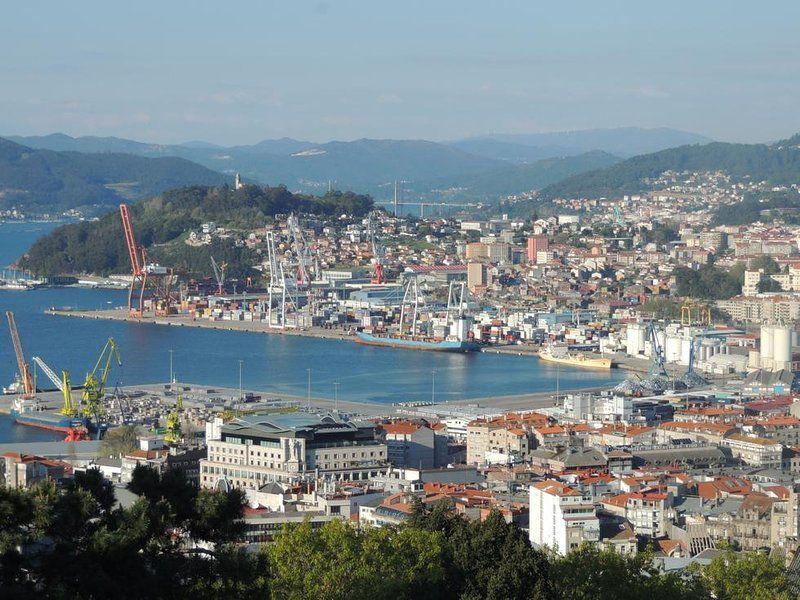 Ferienwohnung in Vigo mit Wi-Fi