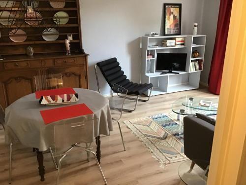 Hébergement attractif à 1 chambre