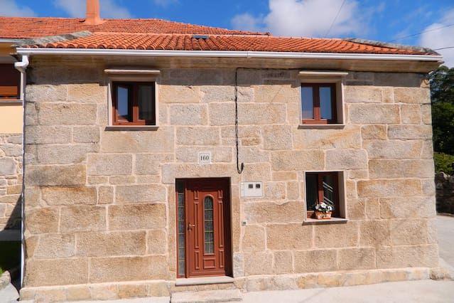 Residencia con jardín en Pedrafigueira