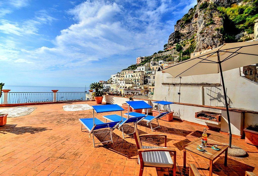 Residencia con balcón para 5 huéspedes