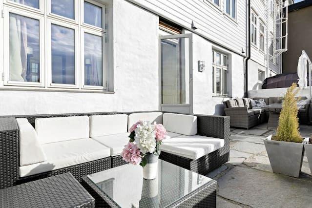 Equipado piso en Bergen