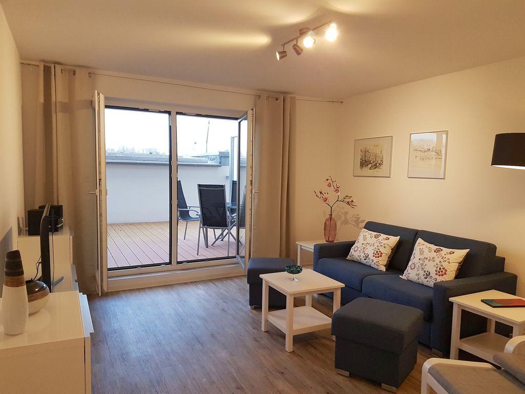 Apartment mit 1 Zimmer und Garten