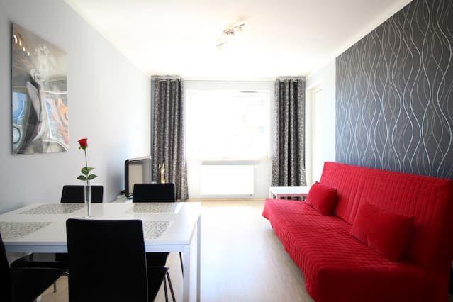 Alojamiento de 2 habitaciones en Gdańsk