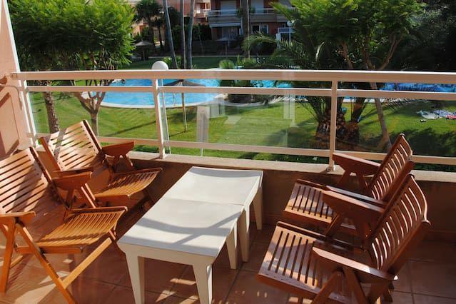 Ferienunterkunft in Jávea mit 1 Zimmer