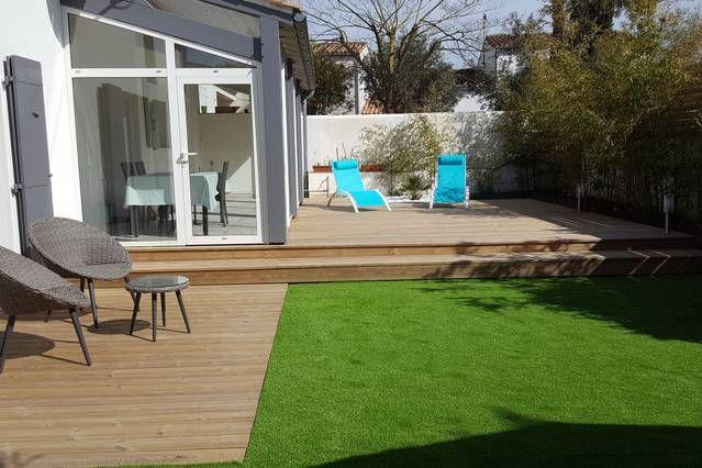 Alojamiento en Saint-martin-de-ré con jardín