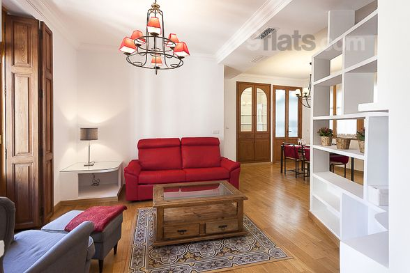 Hogareño piso turístico de 2 habitaciones en Valencia