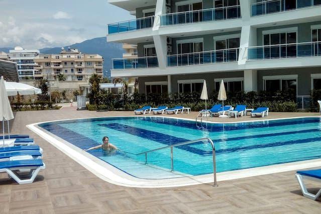 Ferienunterkunft mit inklusive Parkplatz in Alanya