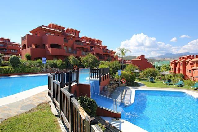 Práctico apartamento de 2 habitaciones en Costa del sol