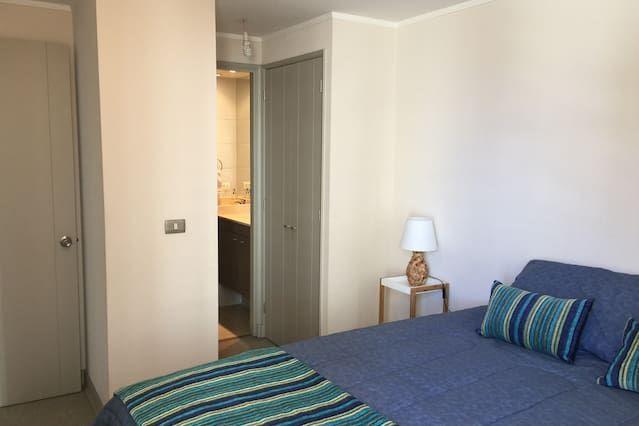 Provisto apartamento de 1 habitación