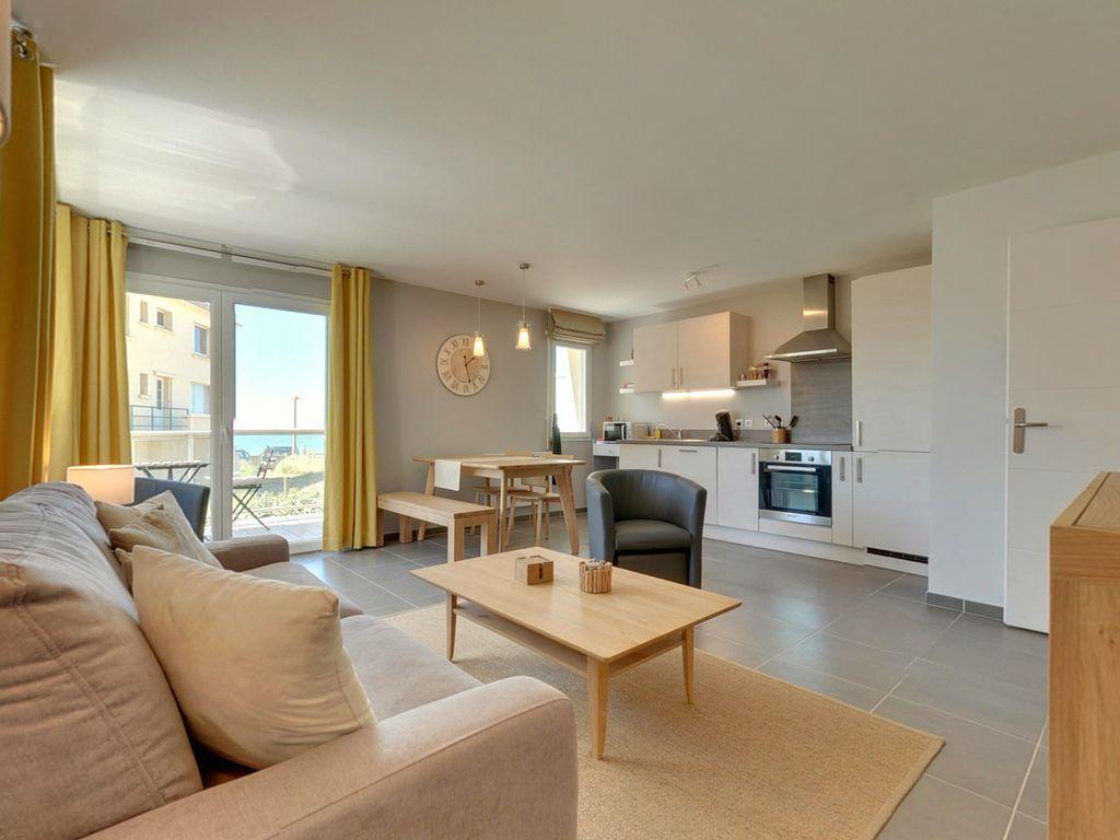 Wohnung für 4 Gäste in Neufchâtel-hardelot