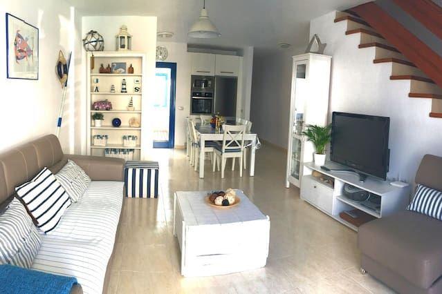 Con vistas alojamiento en Famara