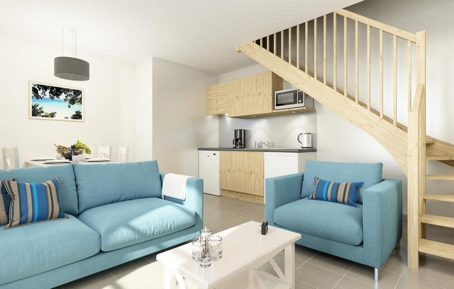 Apartamento para 2 personas en Rivedoux plage