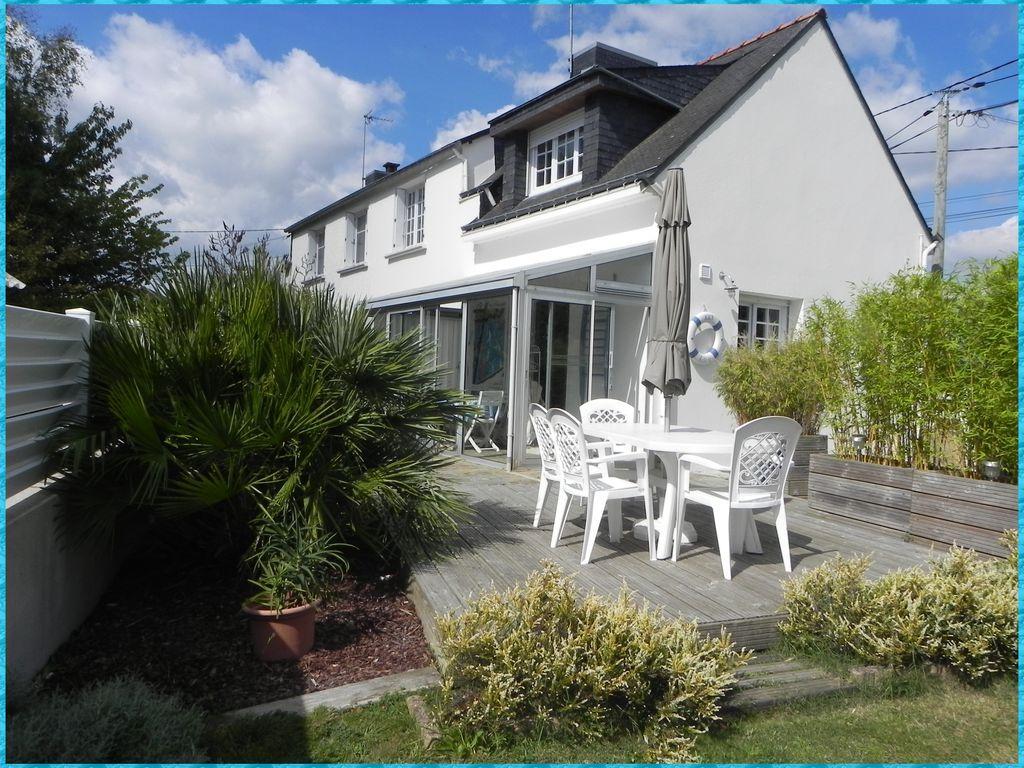 Alojamiento en Morbihan con jardín