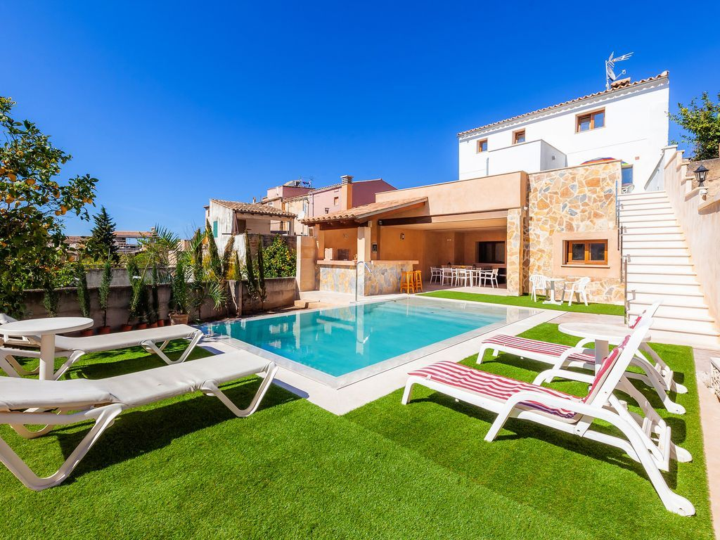 With all the necessities flat with swimming pool