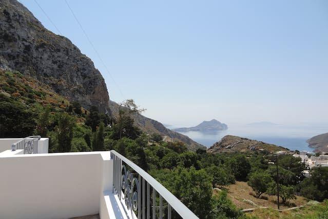 Alojamiento en Aegiali de 3 habitaciones