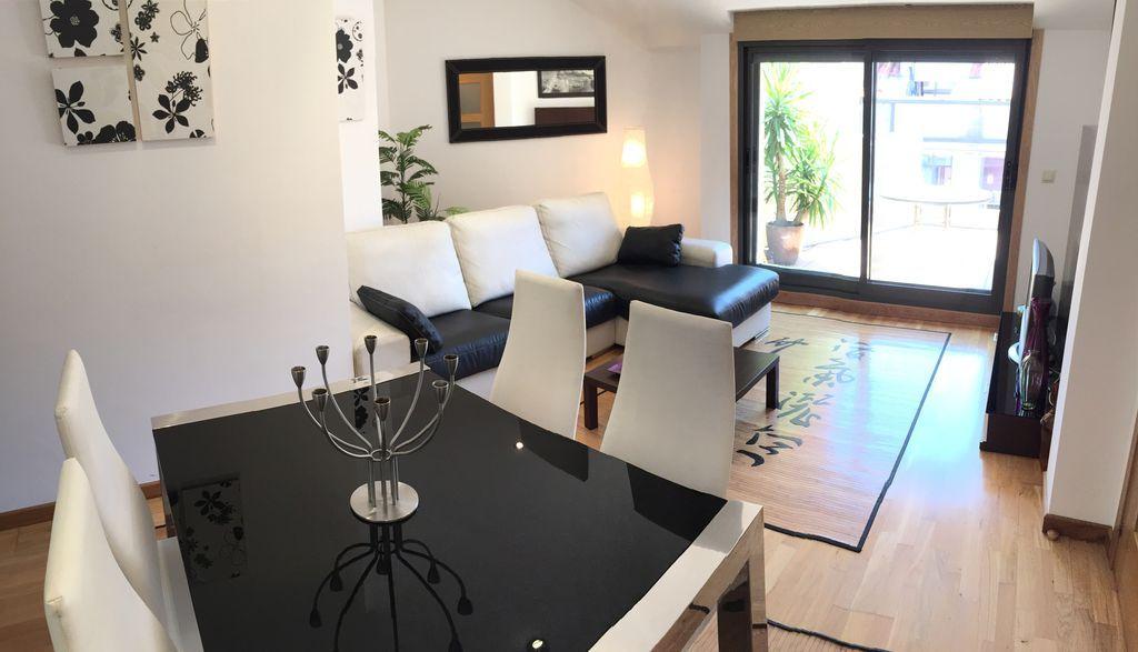 Hébergement à Sanxenxo de 1 chambre